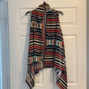 Wrangler vest cardigan